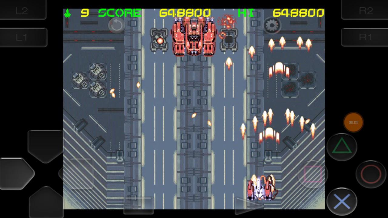 (RetroArch) Rude Breaker (PC98) - Stage 5 (Final City to Boss)