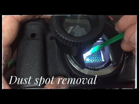 How to clean your dslr sensor and tips (informative)