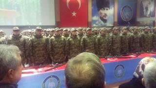 Kütahya Beşinci Dönem Bedelli Askerlerin Yemin Töreni