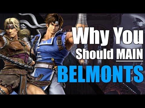 Super Smash Bros. Ultimate | Richter / Simon Belmont Analysis + Intro Guide
