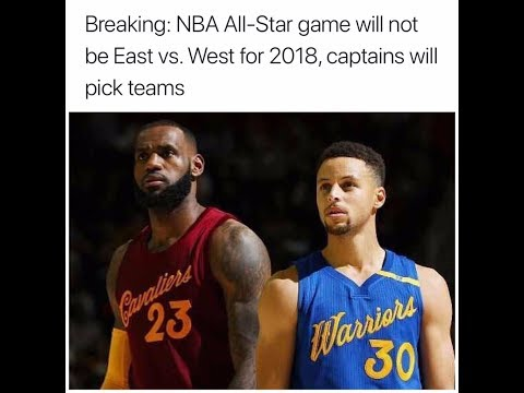 Lebron and Curry on same All Star Team???