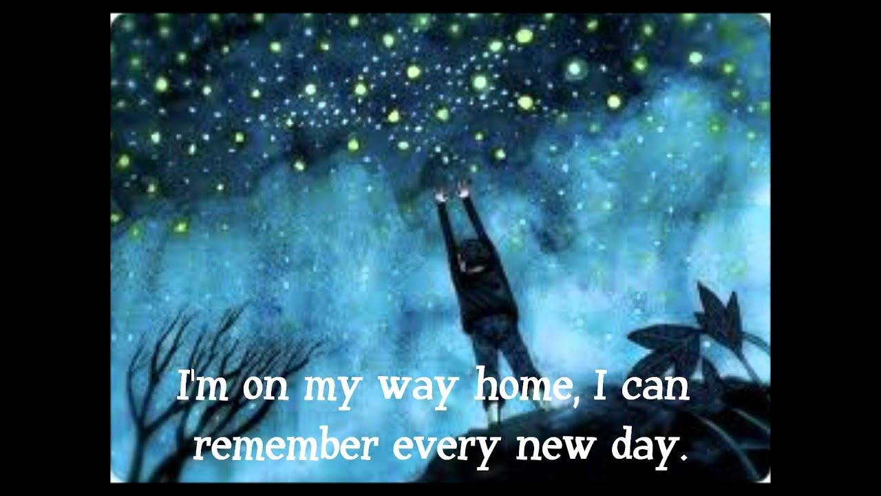 Enya- On My Way Home Lyrics - YouTube