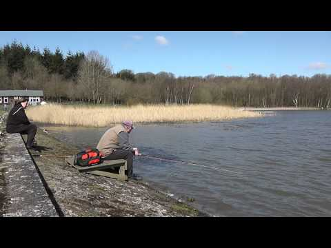 Catching Two Hard Hitting Rainbow Trout At Powdermill Reservoir - Hastings Fly Fishers Club