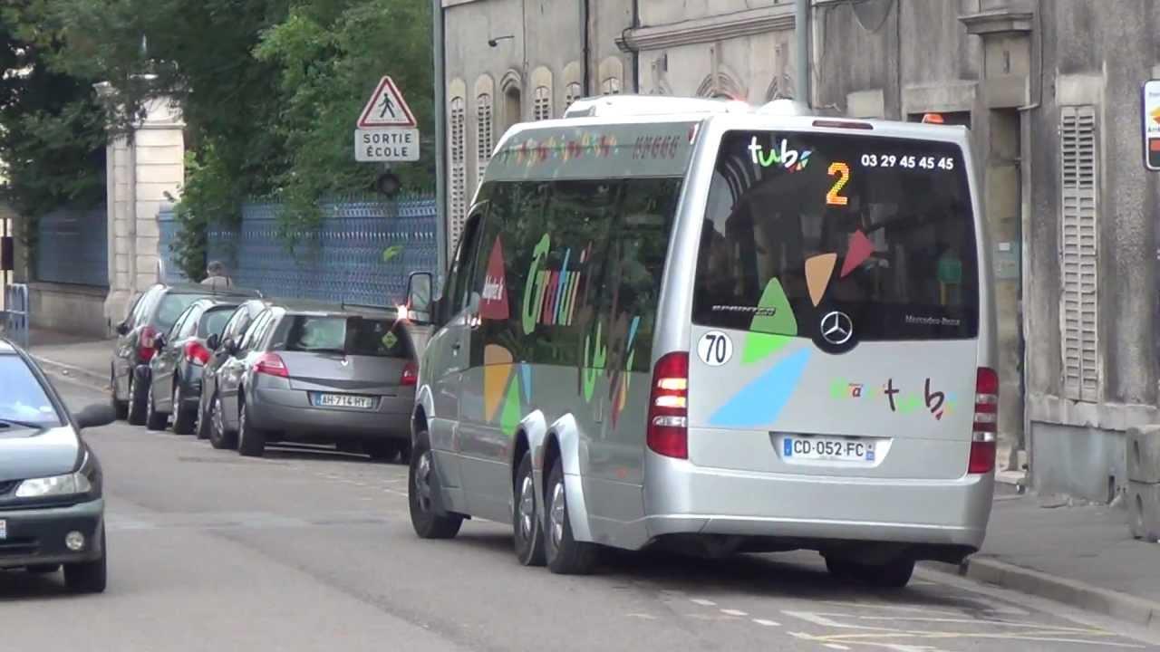Mercedes Sprinter City Tub Bar Le Duc Youtube