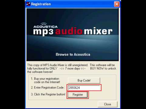 acoustica mp3 audio mixer 2.471