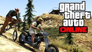 GTA 5 Online | С мотор в планината