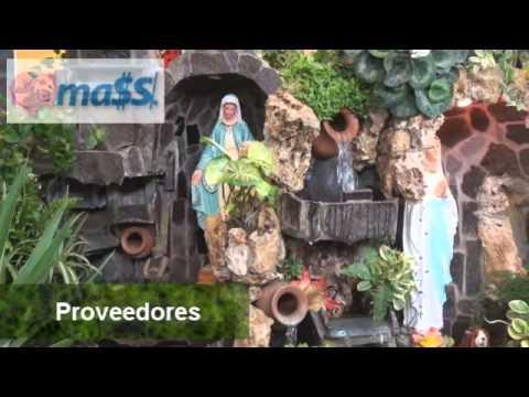Negocios innovadores grutas y fuentes for Grutas para jardines pequenos
