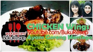 Ayam Goreng Mentega | Chicken Wings - Fried Chicken | Fried Chicken Recipe Chicken Wings Butter