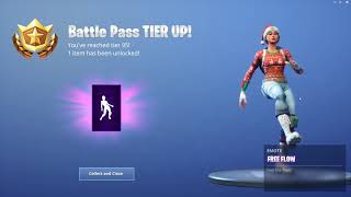UNLOCKING the Free Flow Emote In Fortnite...!!!