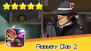 Robbery Bob 2 Hauntington 12 13 Walkthrough Secret Agent Suit Recommend index five stars
