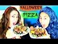 Halloween PIZZA Gummy Candy Chocolate M&MS Kit Kat Snickers| B2cutecupcakes