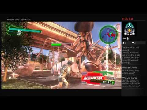 Omg (old man gaming )  earth defense force 4.1