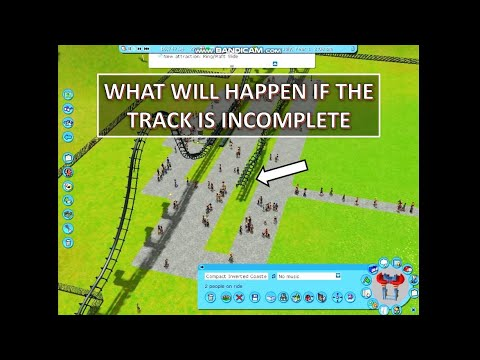 Incomplete Track [Part -1] - Roller Coaster Tycoon 3 | GraphWin Gaming |
