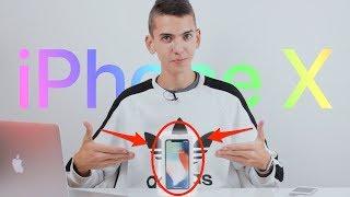 КУПИЛ iPHONE X — РАСПАКОВКА И ПЕРВОЕ ВПЕЧАТЛЕНИЕ!