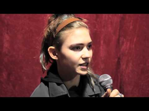 Grimes Interview February, 2012