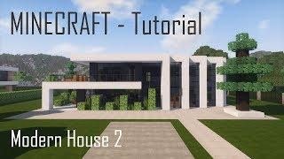 modern minecraft exterior tutorial