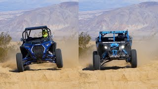 Polaris Rzr Xp Turbo S Vs. Can-am Maverick X3 X Rc - Desert Action
