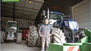 Fendt ou New Holland ? Ronan Ménard donne son avis sur le tracteur New Holland T7.270 Blue Power