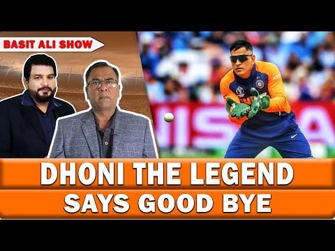 Dhoni The Legend Says Good Bye & Suresh Raina Joins His Journey | Basit Ali Show