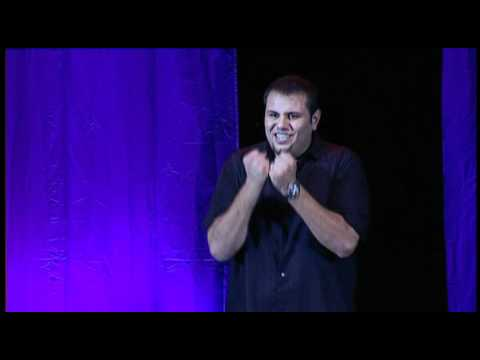"Comedian Mohammed ""Mo"" Amer at the London Apollo (Women Invented Chess)"