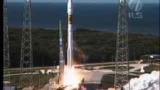 Atlas V Rocket Launches Massive Inmarsat 4F-1 Satellite
