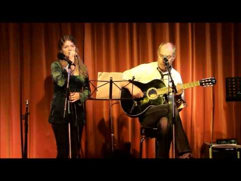 Singer Lara Willems and guitarist Henk Keizer