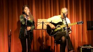 Singer Lara Willems and guitarist Henk Keizer