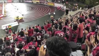 2013.7.3 ファジアーノ岡山vsヴィッセル神戸 19:00キックオフ@カン...