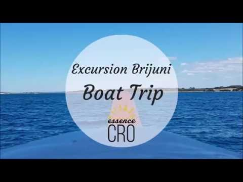 Excursion Brijuni - Boat Trip