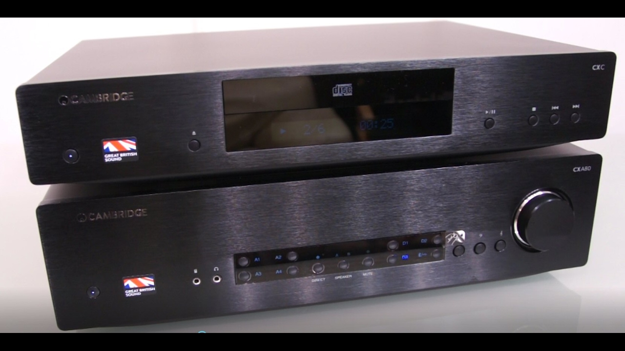 Cambridge Audio CXA 80 Black