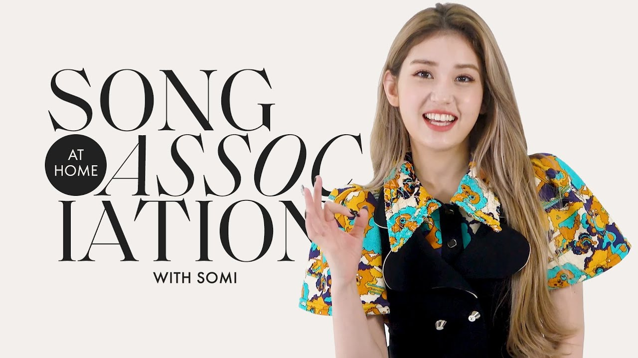 SOMI Sings Cardi B, TWICE, and BLACKPINK in a Game of Song Association | ELLE