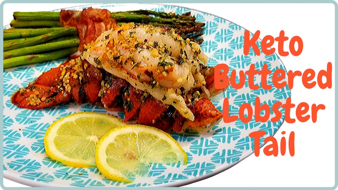Keto Buttered Lobster Tail 🦞 - YouTube