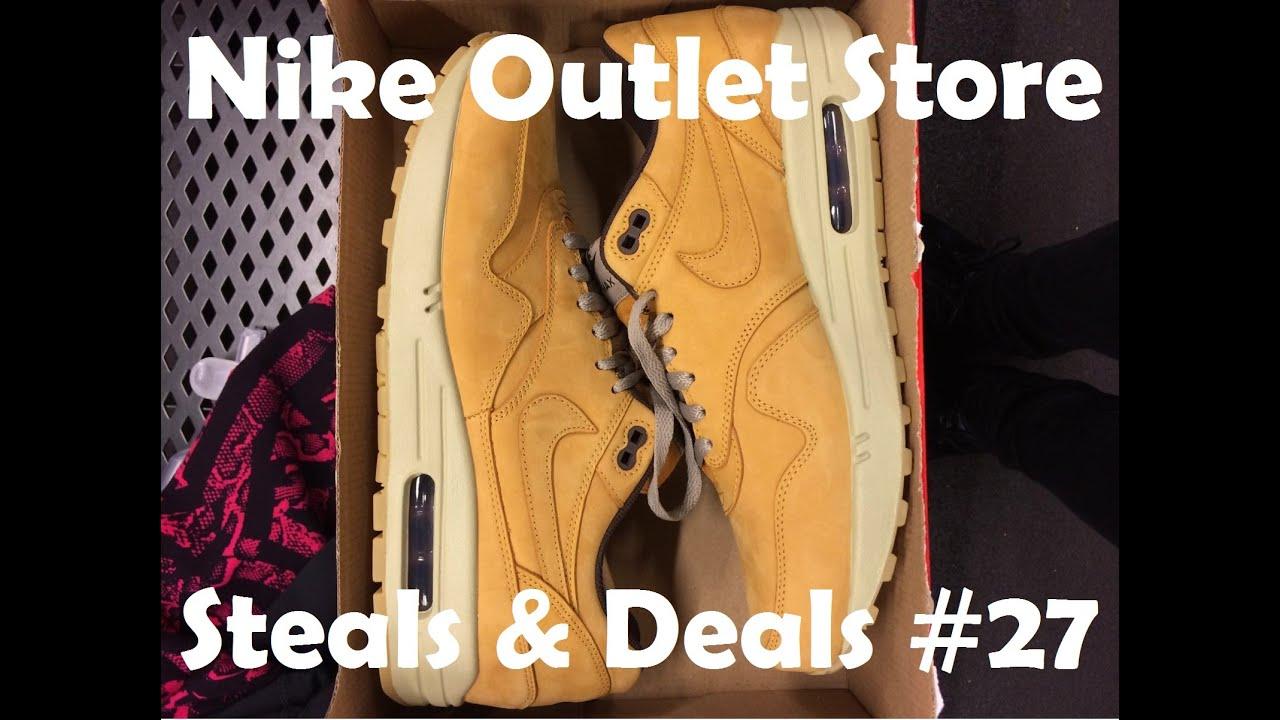 Nike Outlet Store STEALS & DEALS #27: Air Max 1 Wheat, Nai Ke Air Force 1 &  More!