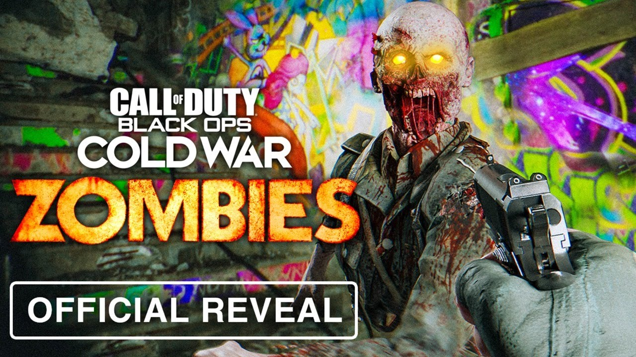 OFFICIAL COLD WAR ZOMBIES GAMEPLAY REVEAL! (Black Ops Cold War Zombies Reveal)