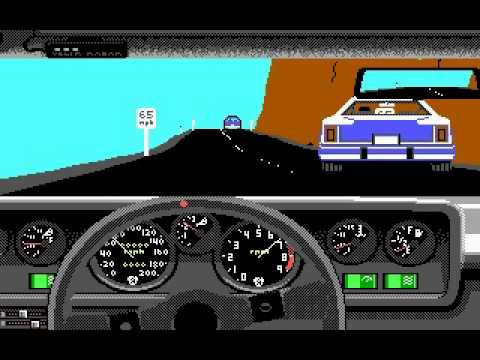 Test Drive 1 - Gameplay
