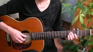 ぽんきち動画「Norah Jones~Don't Know Why」カバーのギターアレンジ演奏