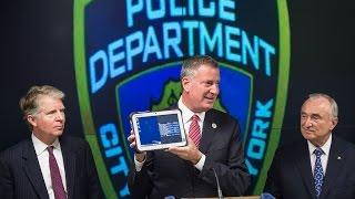 Mayor de Blasio Announces Major Initiative to Enhance NYPD Mobile Communication