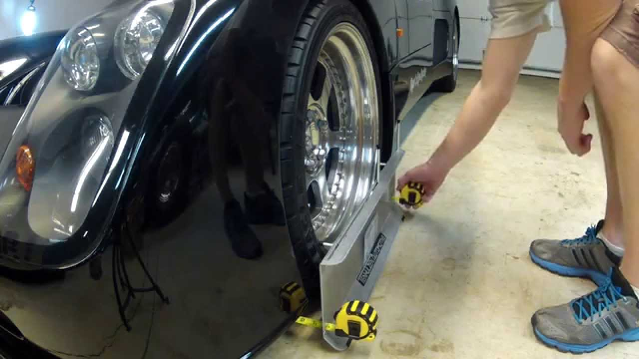 2 wheel alignment kit, diy wheel alignment from tenhulzen automotive