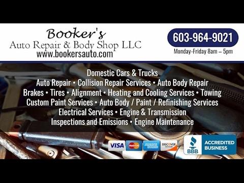 Booker's Auto Repair & Body Shop, LLC | North Hampton NH Auto Repair