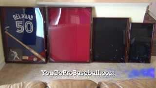 Jersey Frame Kit Shadow Box Sizes