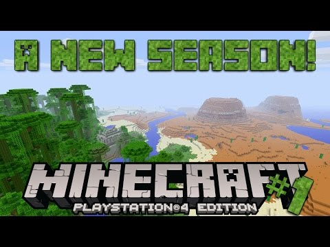 Minecraft PS4 Survival #1 | SEASON TWO BEGINS!