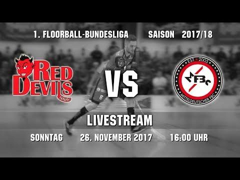 Floorball-Bundesliga 2017/18: Red Devils Wernigerode - MFBC Leipzig (26.11.2017)