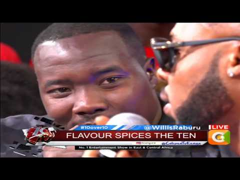 10 OVER 10 | Flavour's 2 cents on Kenya's love for Nigerian Music