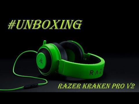 #UNBOXING - HEADSET RAZER KRAKEN PRO V2 GREEN