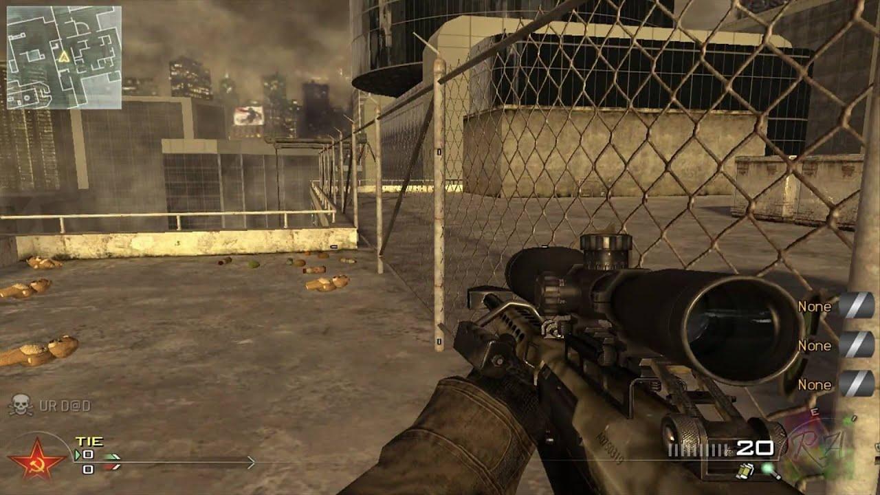Call Of Duty Modern Warfare 2 Glitches High Rise Roof Amp Crane YouTube