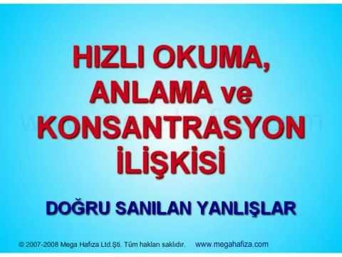 ANLAYARAK HIZLI OKUMA VE HAFIZA GÜCÜ, Sunan Melik Duyar.mp4