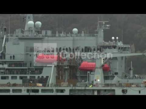 EBOLA:UK NAVY SHIP HEADED FOR SIERRA LEONE