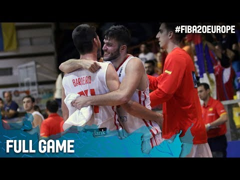 Spain v Serbia - Full Game - FIBA U20 European Championship 2017