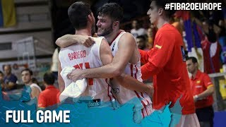 Spain v Serbia - Full Game - FIBA U20 European Championship 2017