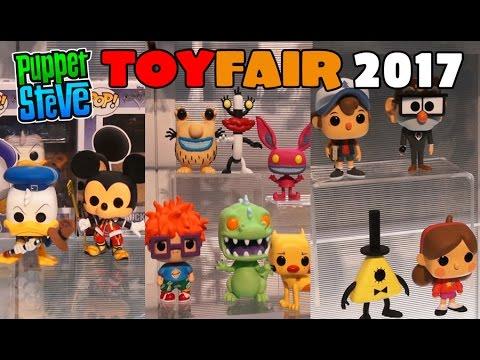Funko POP 2017 line up Gravity Falls, Kingdom Hearts, Nicktoons, Space Jam, Toy Fair